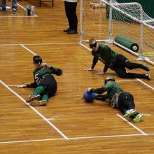 Dar vienas žingsnis Tokijo link – Lietuvos vyrų golbolo rinktinė įveikė čekus