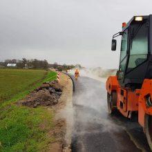 Imtasi veiksmų: aistras kėlęs Rusnės kelias – asfaltuojamas