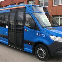 Klaipėdos gatvėse – dar dvylika naujų autobusų