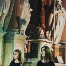 Premjera Šiluvos bazilikoje: archajiškas epinis kūrinys suskambo naujai