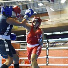 Boksininkė I. Lešinskytė pasaulio čempionate užėmė penktąją vietą