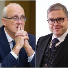 V. Vasiliauskas ruošia atsaką S. Jakeliūnui: ne mes pradėjome šį žaidimą