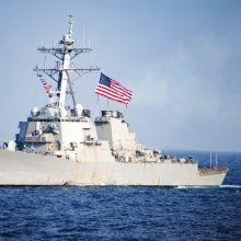 JAV karo laivas perplaukė Taivano sąsiaurį