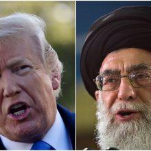 Irano aukščiausiasis lyderis: neturiu, ką atsakyti D. Trumpui