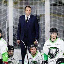 """Po """"karantininės"""" pertraukos – dviguba """"Kaunas Hockey"""" savaitė sostinėje ir namuose"""