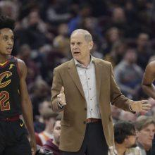 """Riksmais žaidėjų neįtikino: """"Cavaliers"""" treneris palieka postą"""