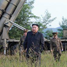 Šiaurės Korėja paskelbė, kada rengs derybas su JAV
