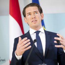 Austrijos buvusiam premjerui S. Kurzui pavesta suformuoti naują vyriausybę