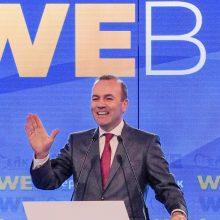 Europos dešiniųjų lyderis: Ukrainai – europinė perspektyva, antidemokratams – baudos
