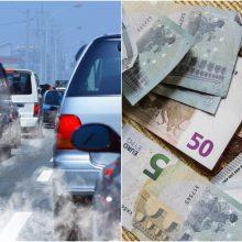 Parengė automobilių taršos mokestį: pasitikrinkite, kiek teks atseikėti