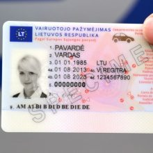 Seimas šią savaitę spręs dėl vairuotojo pažymėjimo tapatybei nustatyti