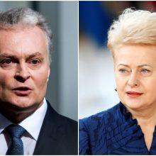 Akivaizdūs pokyčiai reitingų lentelėje: G. Nausėda aplenkė D. Grybauskaitę