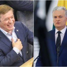 R. Karbauskiui užkliuvo G. Nausėdos komanda: kai kurie patarėjai susireikšmina