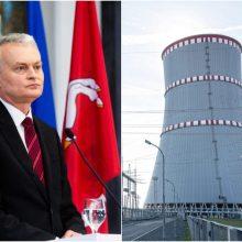 G. Nausėda: ekspertai galėtų įtikinti kaimynus blokuoti Astravo AE elektrą