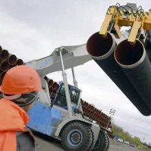 """Nepaisant JAV spaudimo, """"Nord Stream 2"""" projektas juda pirmyn"""