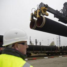 """Rusija apie """"Nord Stream 2"""": ES sprendimai neturi aptarnauti šalių vidaus politikos"""