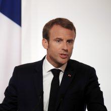 Prancūzija žada mažinti mokesčius nežlugdydama biudžeto