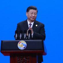 """""""Naujasis Šilko kelias"""": Kinijos prezidentas žada daugiau skaidrumo"""