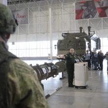 Rusija teigia, kad visiškai laikosi INF sutarties
