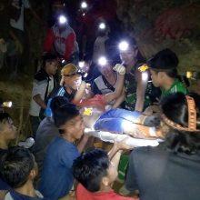 Indonezijoje įgriuvo aukso kasykla: po žeme liko dešimtys žmonių