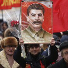 Pirmą kartą XXI amžiuje dauguma rusų teigiamai vertina J. Staliną