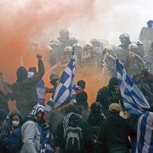 Graikijos parlamentarai ketvirtadienį balsuos dėl susitarimo su Makedonija