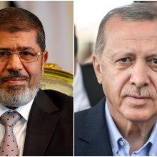 Egiptas smerkia neatsakingus R. T. Erdogano kaltinimus, kad M. Morsis buvo nužudytas