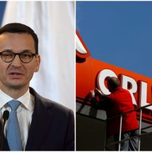 "Lenkijos premjeras žada ""Orlen"" plėtrą Lietuvoje"