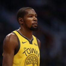 """""""Knicks"""" vadovai pabijojo K. Durantui siūlyti maksimalią sutartį"""