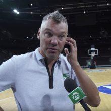 Z. LeDay pagyręs Š. Jasikevičius nerimauja dėl žaidimo: norėtųsi didesnio progreso