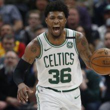 Pasveiko ketvirtasis koronavirusu užsikrėtęs NBA žaidėjas