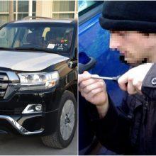 Klaipėdiečių automobilį pavogė iš namo kiemo, nuostolis – tūkstantinis