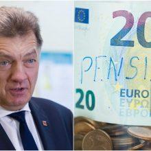Ekspremjeras A. Butkevičius ragina mažinti skurdą: prioritetas – pensijų didinimas