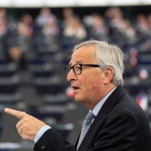 "J. C. Junckeris: ""Brexit"" atidėti nebereikės"