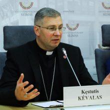 Vyskupas K. Kėvalas: yra trys dalykai, be kurių gerovės valstybės nesukursime