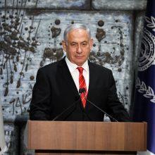 Prasideda svarstymai dėl Izraelio premjero B. Netanyahu korupcinės veiklos