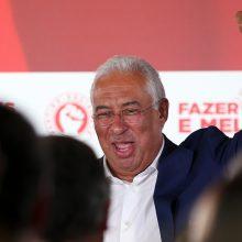 Portugalijos parlamento rinkimuose triumfavo socialistai