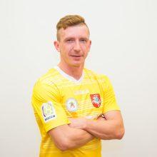 Lietuvos mažojo futbolo rinktinės kapitonas V. Baranovskis: norisi sukurti istoriją