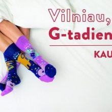 Kauno staigmena Vilniui: sostinės gimtadieniui sukūrė šventines kojines