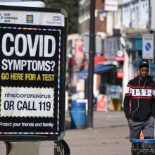 Dėl pandemijos atšaukiamas Londono naujametinis fejerverkų šou