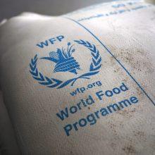 Nobelio taikos premiją gavusi WFP: tai pasididžiavimo verta akimirka