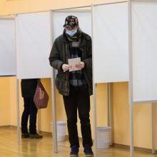 Kelmės ir Trakų rajonų gyventojai rinko merus, balsavo 34,22 proc. rinkėjų