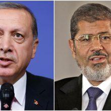 Turkijos prezidentas: Egipto eksprezidentas M. Morsi buvo nužudytas