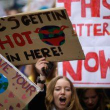Klimato kaita: Didžiosios Britanijos vyriausybė įsipareigoja imtis veiksmų