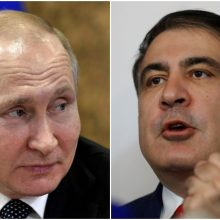 V. Putinas: M. Saakašviliui reikėtų grąžinti Ukrainos pasą