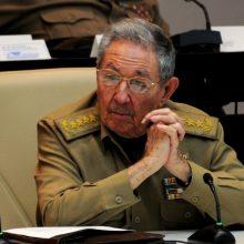 JAV paskelbė sankcijas buvusiam Kubos prezidentui R. Castro