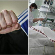 Vilniuje sumuštas ir apiplėštas vyras pateko į ligoninę