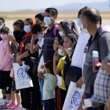 Žmogaus teisių grupės: Graikija palieka pabėgėlius be maisto