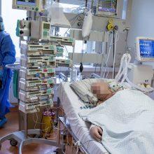 Ligoninėse gydoma 2,5 tūkst. COVID-19 pacientų, 185 – reanimacijoje