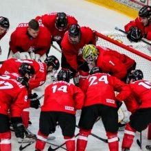 Lietuvos ledo ritulio rinktinė renkasi į treniruočių stovyklą – laukia iššūkis Lenkijoje